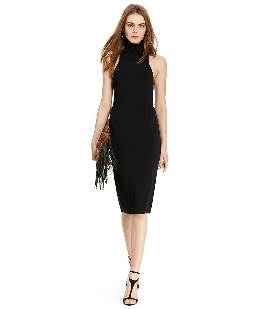 Polo Ralph Lauren Sleeveless Turtleneck Dress