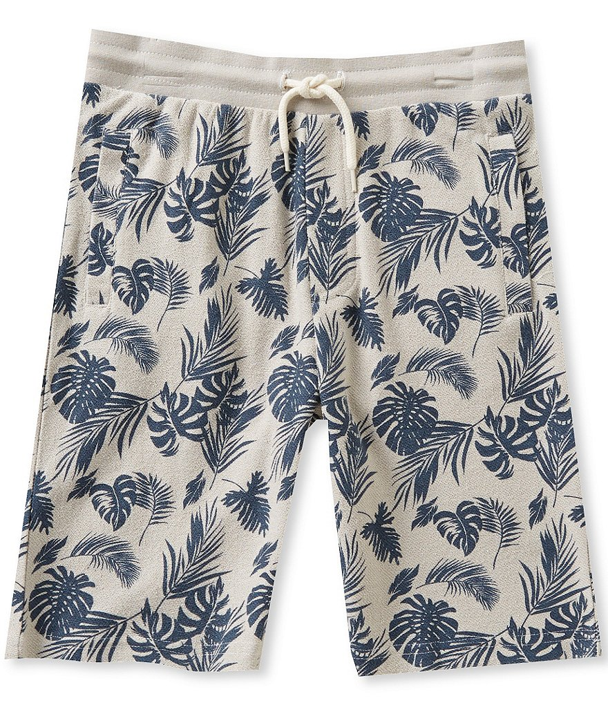 First Wave Little Boys 2T-7 Floral-Printed Pull-On Shorts