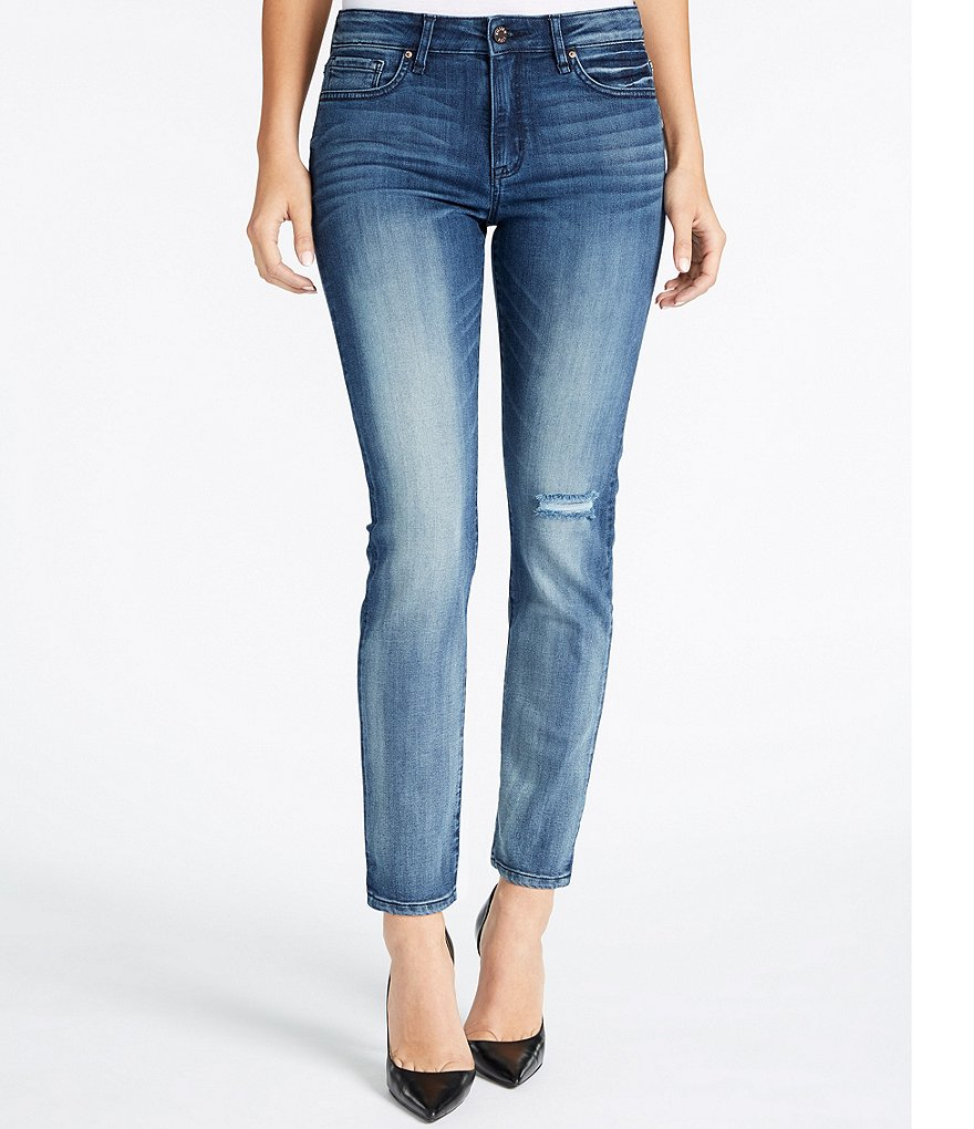 William Rast Slim Fit Straight-Leg Jeans