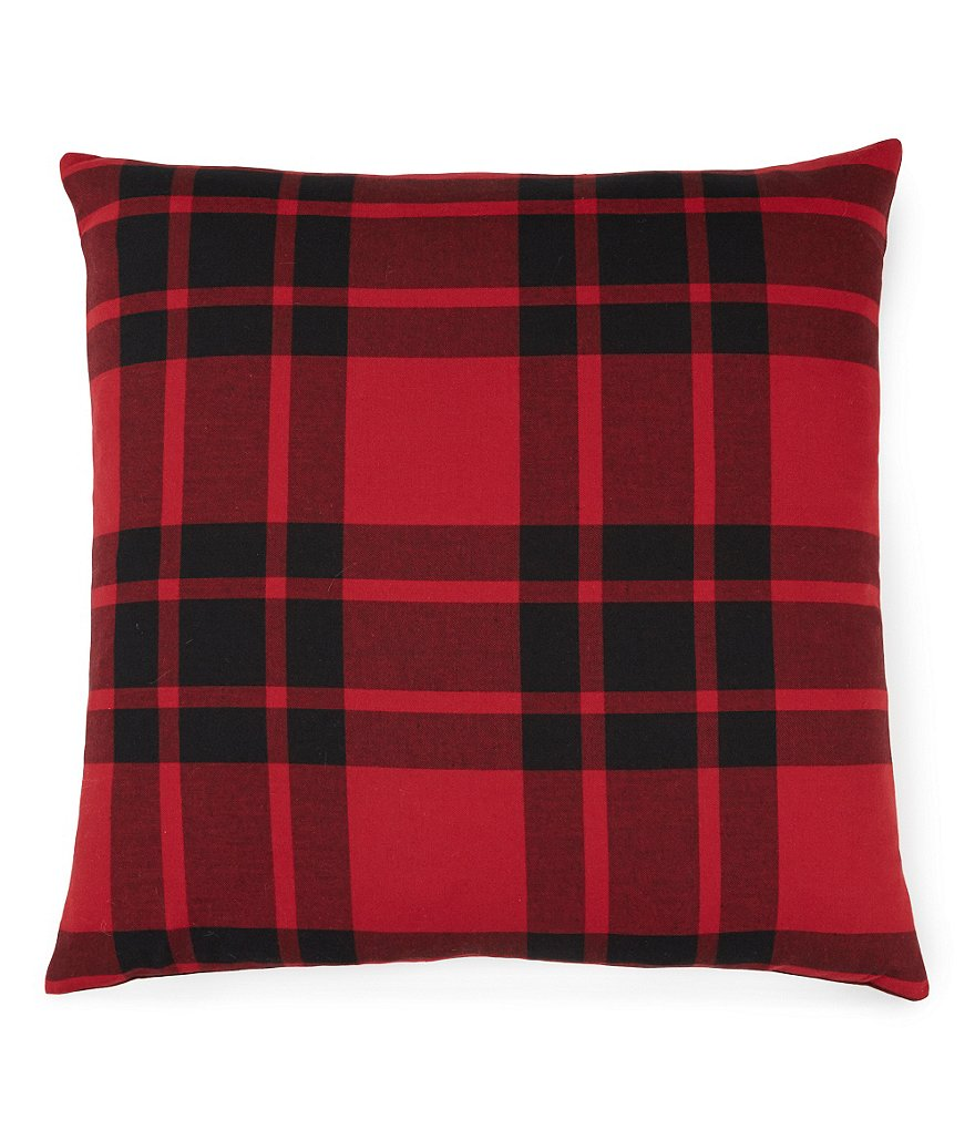 Cremieux Avery Plaid Flannel Pillow