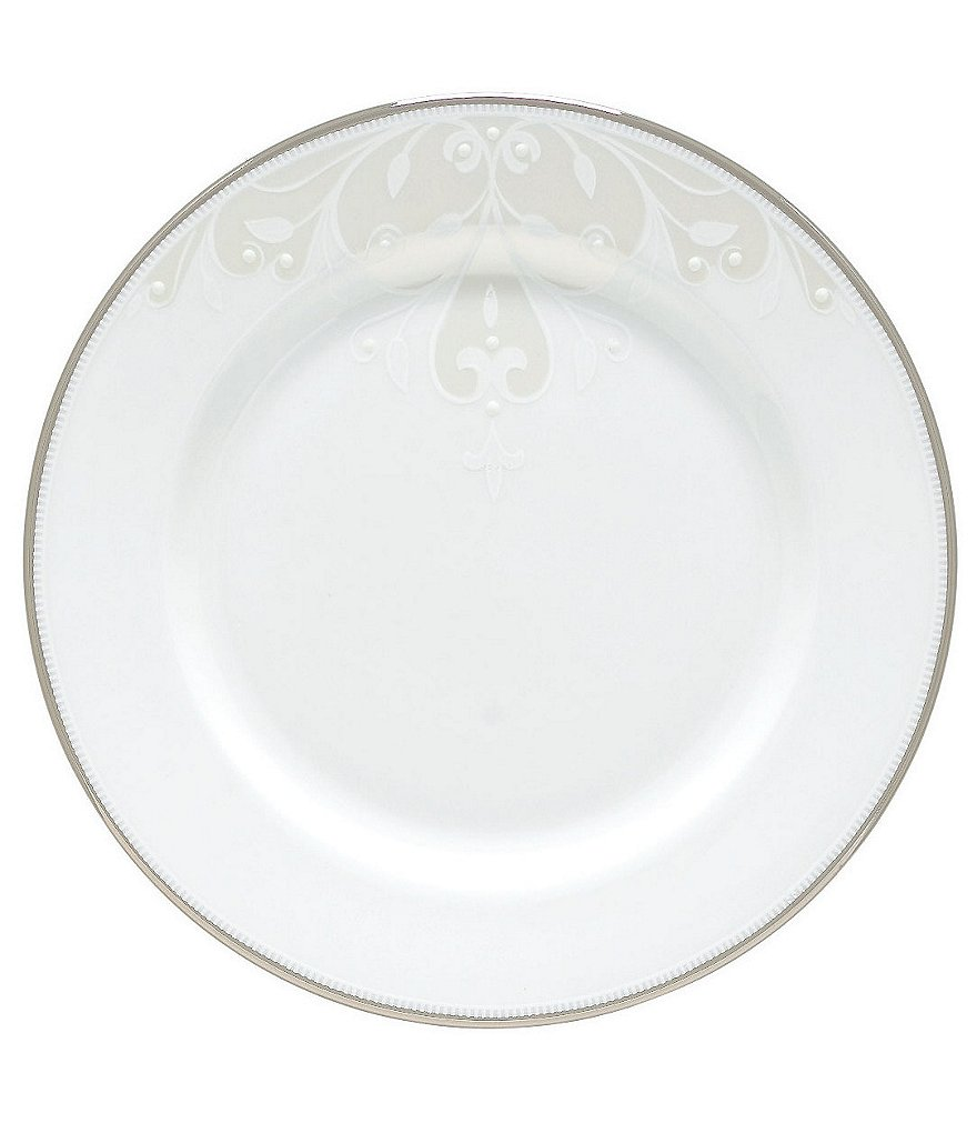 Lenox Opal Innocence Scroll Bread & Butter Plate