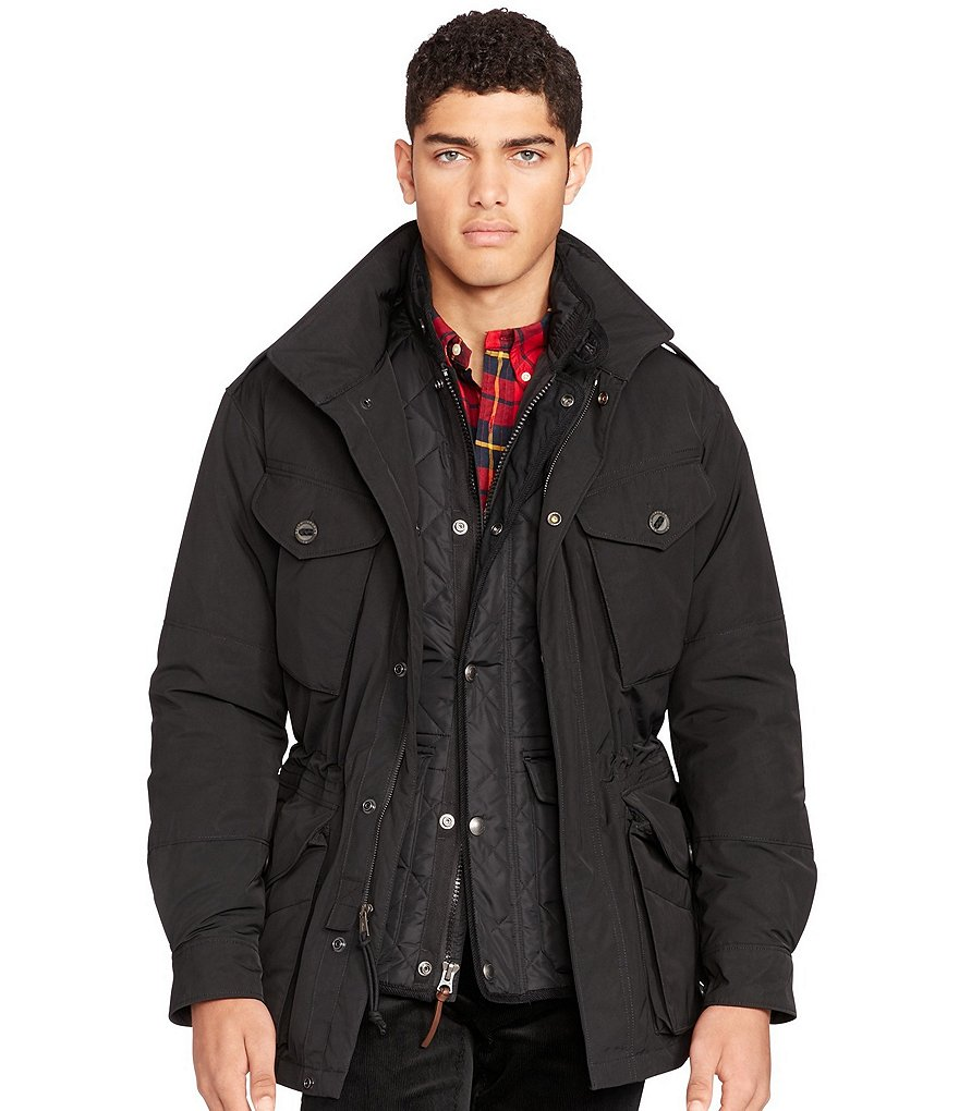 Polo Ralph Lauren Down Combat Jacket