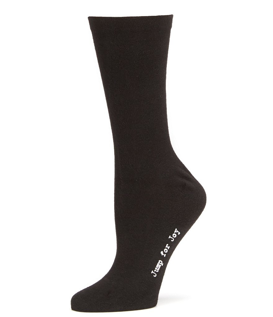 HUE 4-Pack Pique Flat-Knit Socks