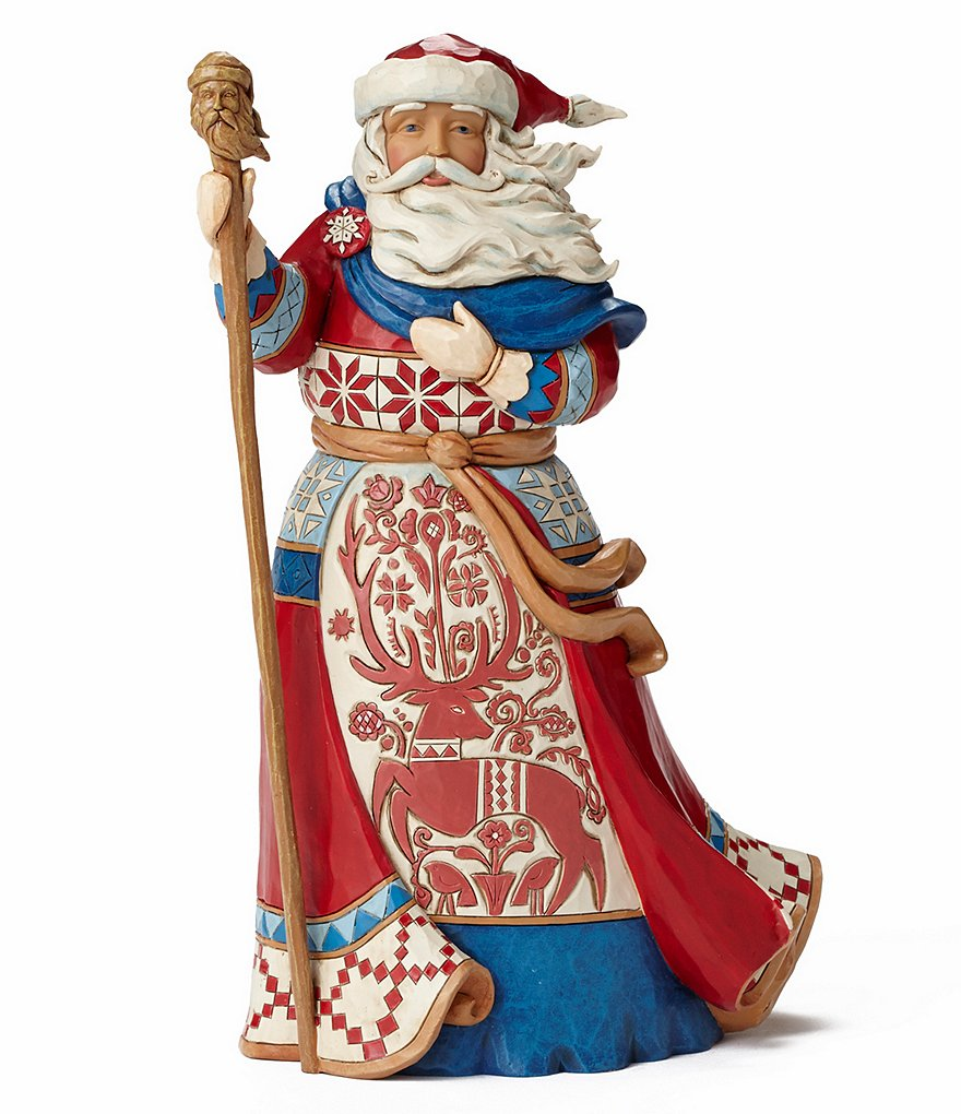 Jim Shore 2016 Lapland Santa Figurine