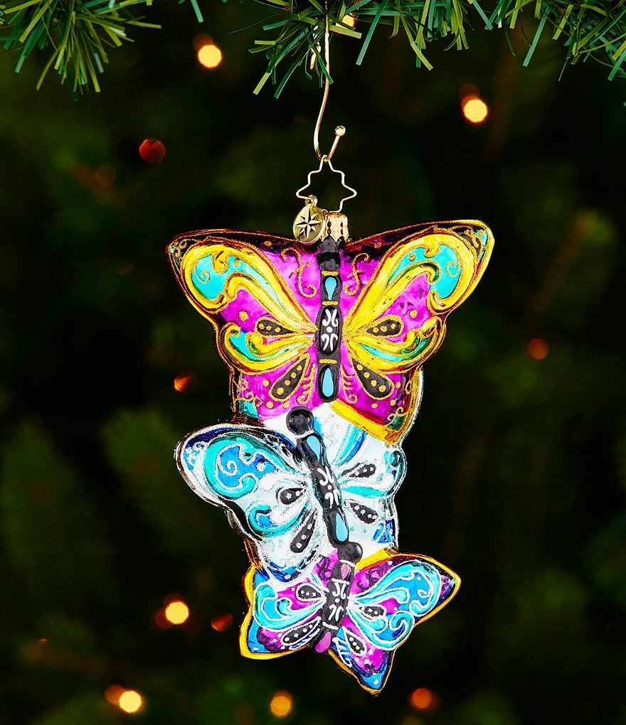 Christopher Radko Fluttering Elegance Ornament