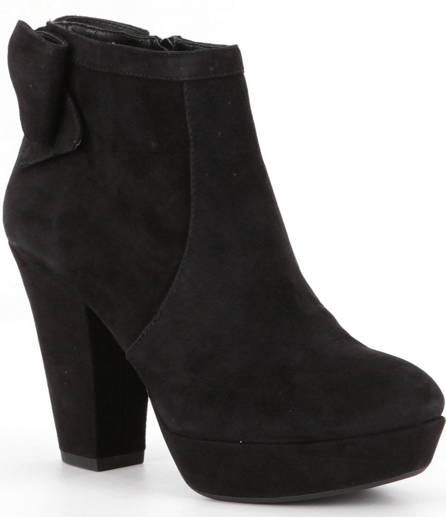 GB Dark-Nite Bow Detailed Booties