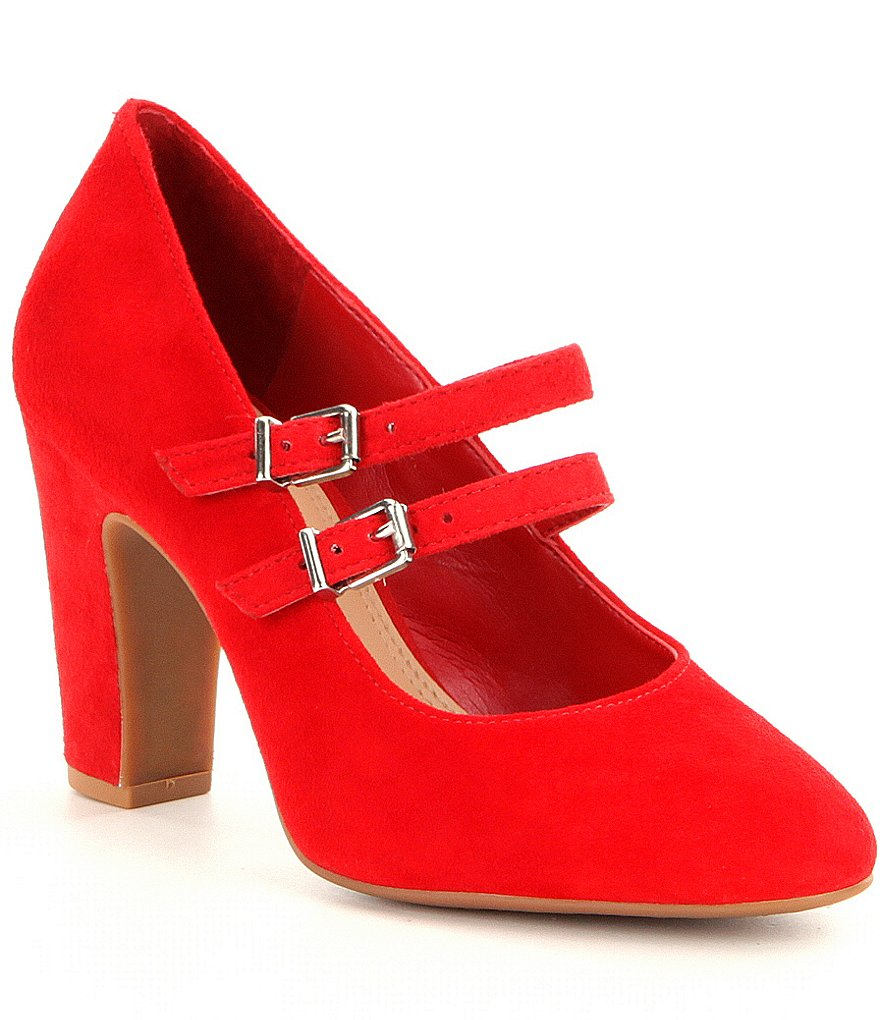 GB Top-Spot Mary Jane Pumps
