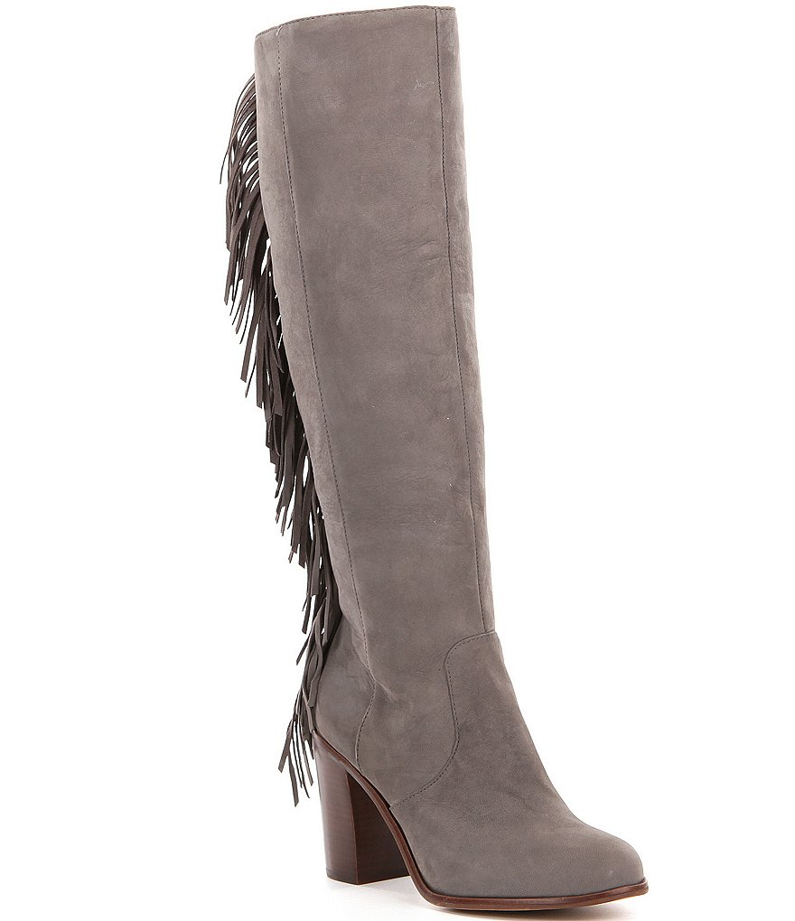 GB Back-Drop Fringe Boots