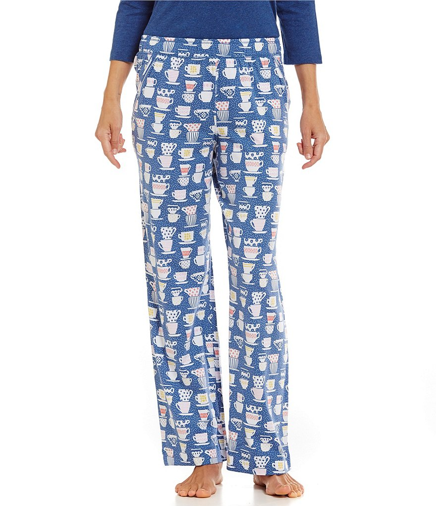 Sleep Sense Petite Teacups Jersey Sleep Pants