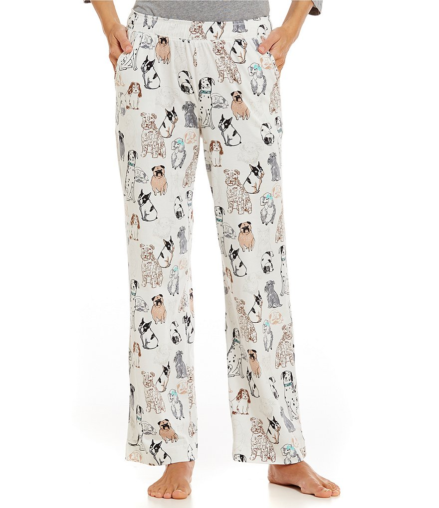 Sleep Sense Petite Sitting Dogs Sleep Pants
