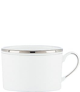 kate spade new york Library Lane Platinum-Striped Cup Image