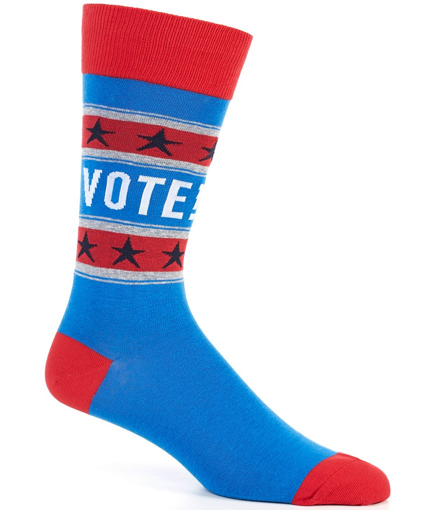 Hot Sox Americana Vote Crew Socks