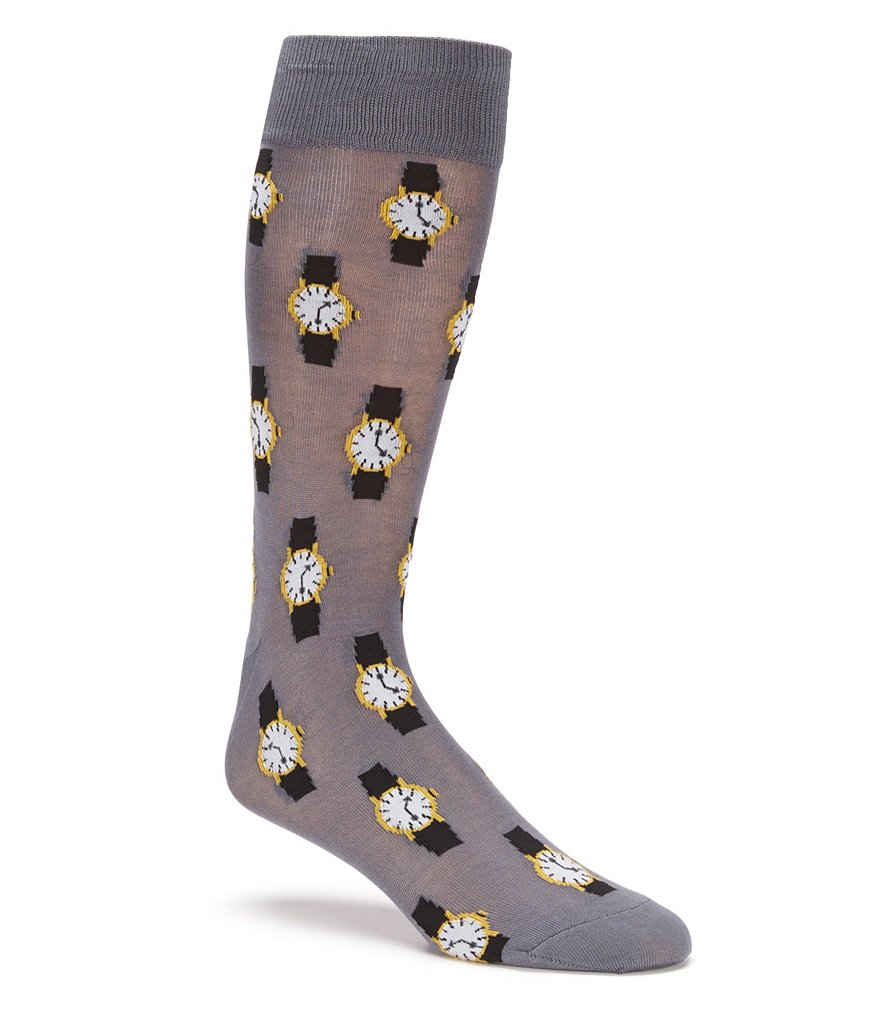 Hot Sox Wristwatch Crew Socks