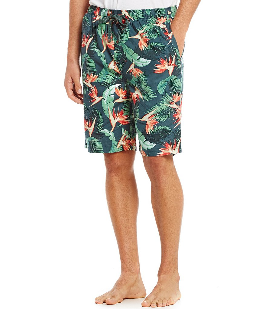 Tommy Bahama Birds of Paradise Print Pajama Shorts