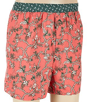 Tommy Bahama Havanna Printed Woven Boxers