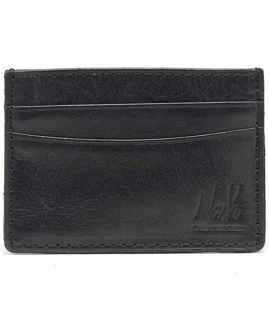 Nash For Men Heritage Leather Slim Card Case