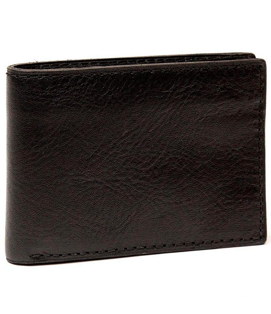 Nash For Men Heritage Leather Double Billfold Wallet