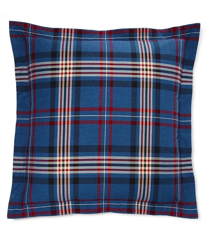 Ralph Lauren Saranac Peak Collection Bentwood Plaid Cotton