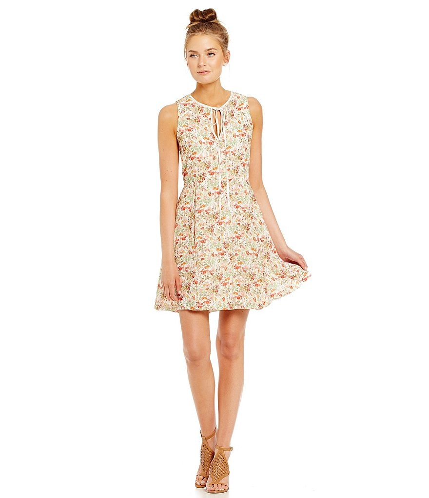 ERIN Erin Fetherston Hayworth Printed Skater Dress