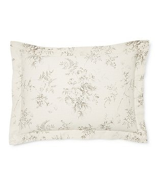 Ralph Lauren Hoxton Collection Ainslie Floral Cotton Sham