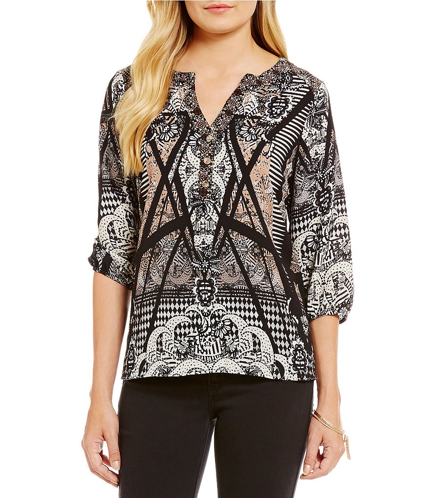 Figuero & Flower Anoushka Printed Top