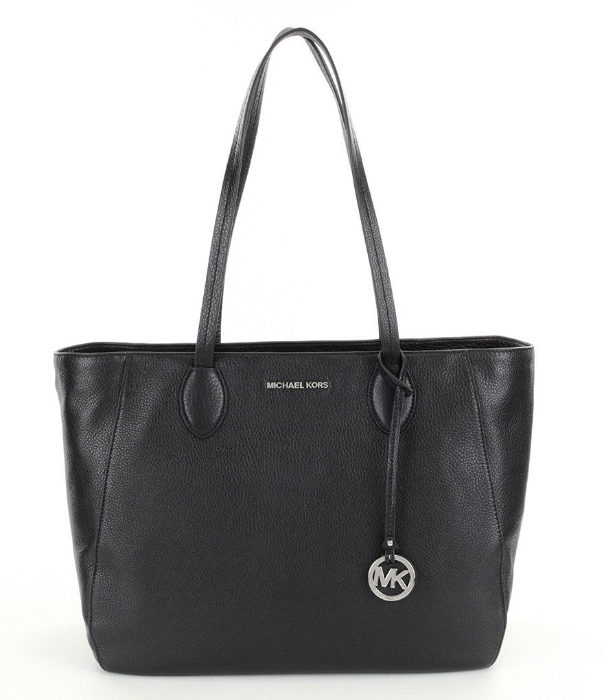 MICHAEL Michael Kors Ani Large Leather Top Zip Tote