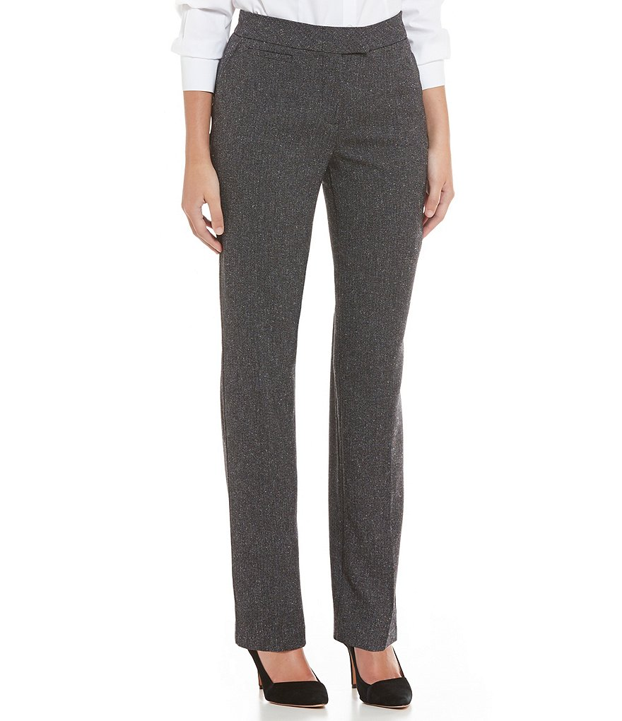 Investments Petite the 5TH AVE fit Modern Straight-Leg Pants