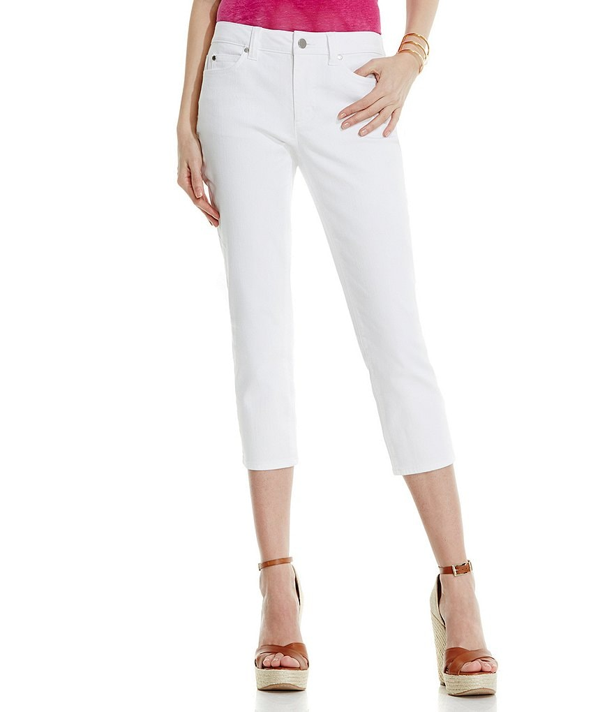 Two By Vince Camuto White Denim Capri