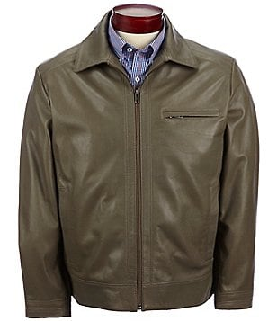 Roundtree & Yorke Lambskin Leather Jacket