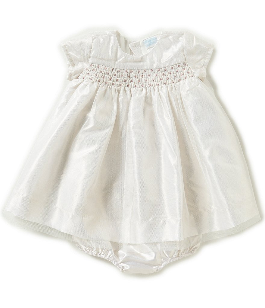 Edgehill Collection Baby Girls Newborn-6 Months Smocked Dress