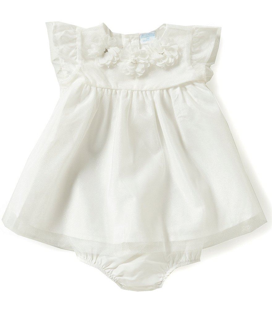 Edgehill Collection Baby Girls Newborn-6 Months Flower Dress