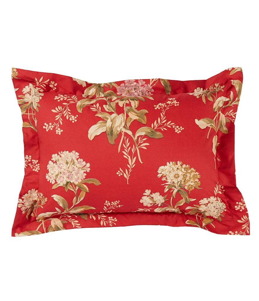 Southern Living Constance Jacobean Floral Breakfast Pillow