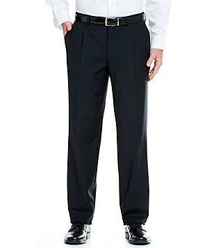 Cremieux Single-Pleat Travel Smart Dress Pants