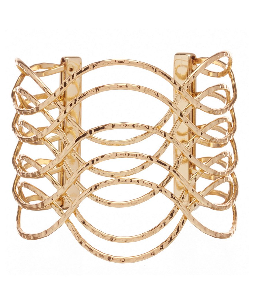 Dillard´s Tailored Metal Wire Open Cuff Bracelet