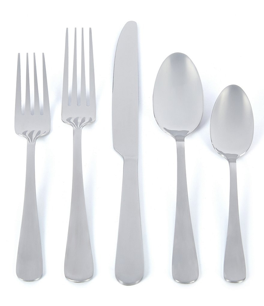 Towle Silversmiths Merritt Satin 78-Piece Flatware Set