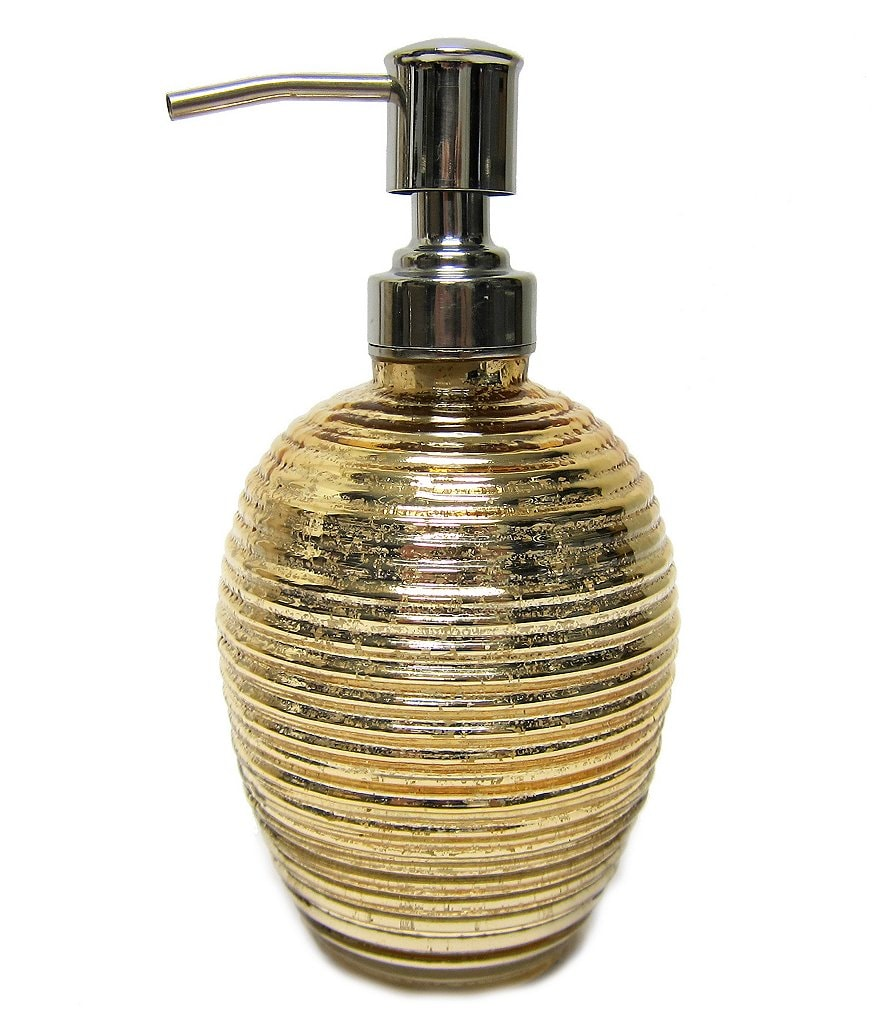 Croscill Honeycomb Mercury Glass Lotion Dispenser