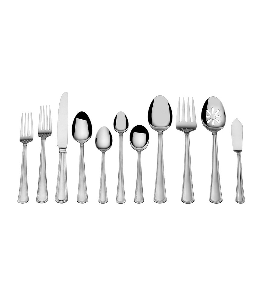 Towle Silversmiths Living Valiant 78-Piece Stainless Steel Flatware Set
