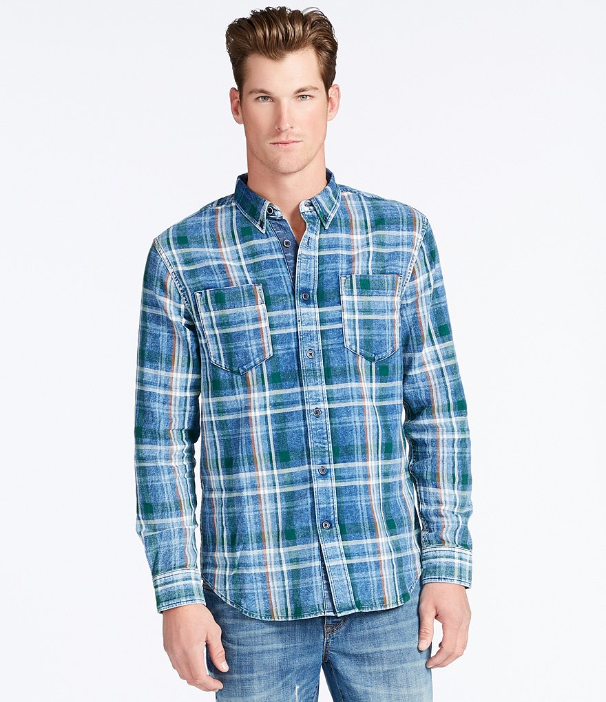 William Rast Hendrix Plaid Woven Shirt