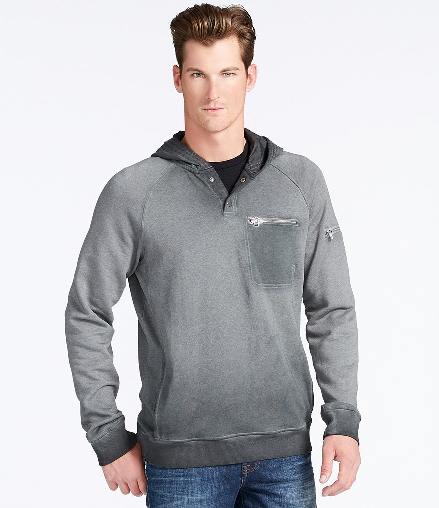 William Rast Mistier Pocket Hoodie