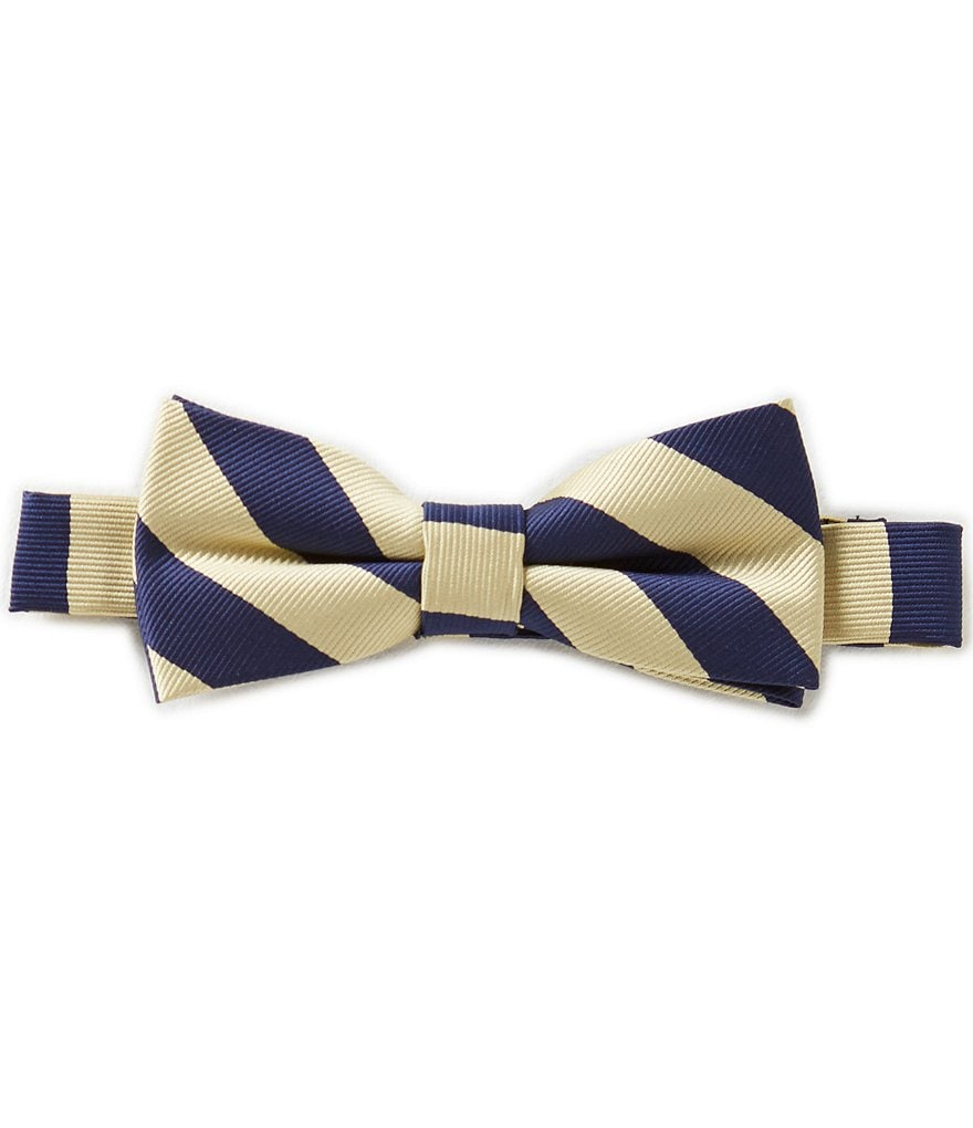 Class Club Victor Striped Bow Tie