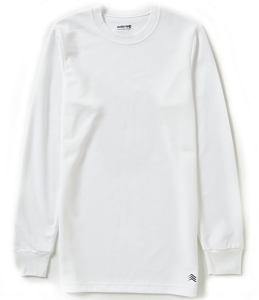 Solaris Bi-Layer Crewneck Top