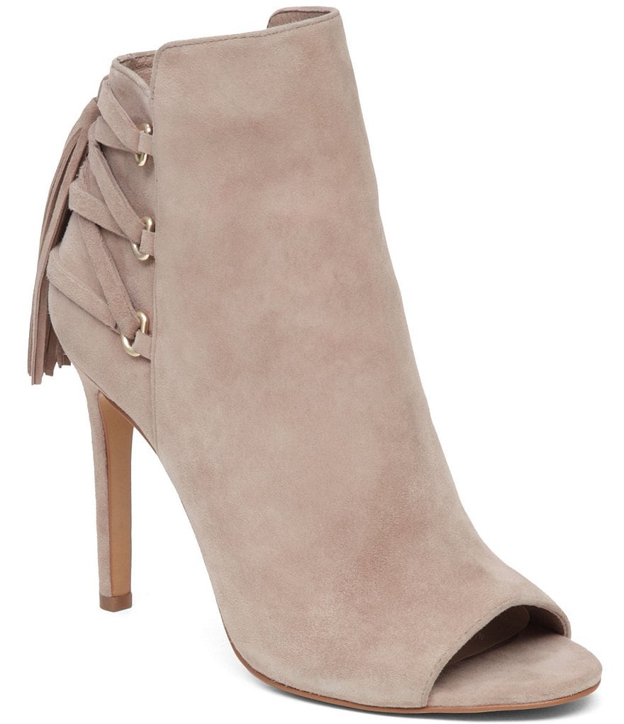 Vince Camuto Kimina Open Toe Corset Booties
