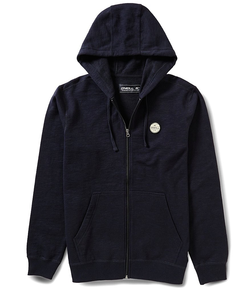 O'Neill Solid Slub Fleece Full-Zip Hoodie