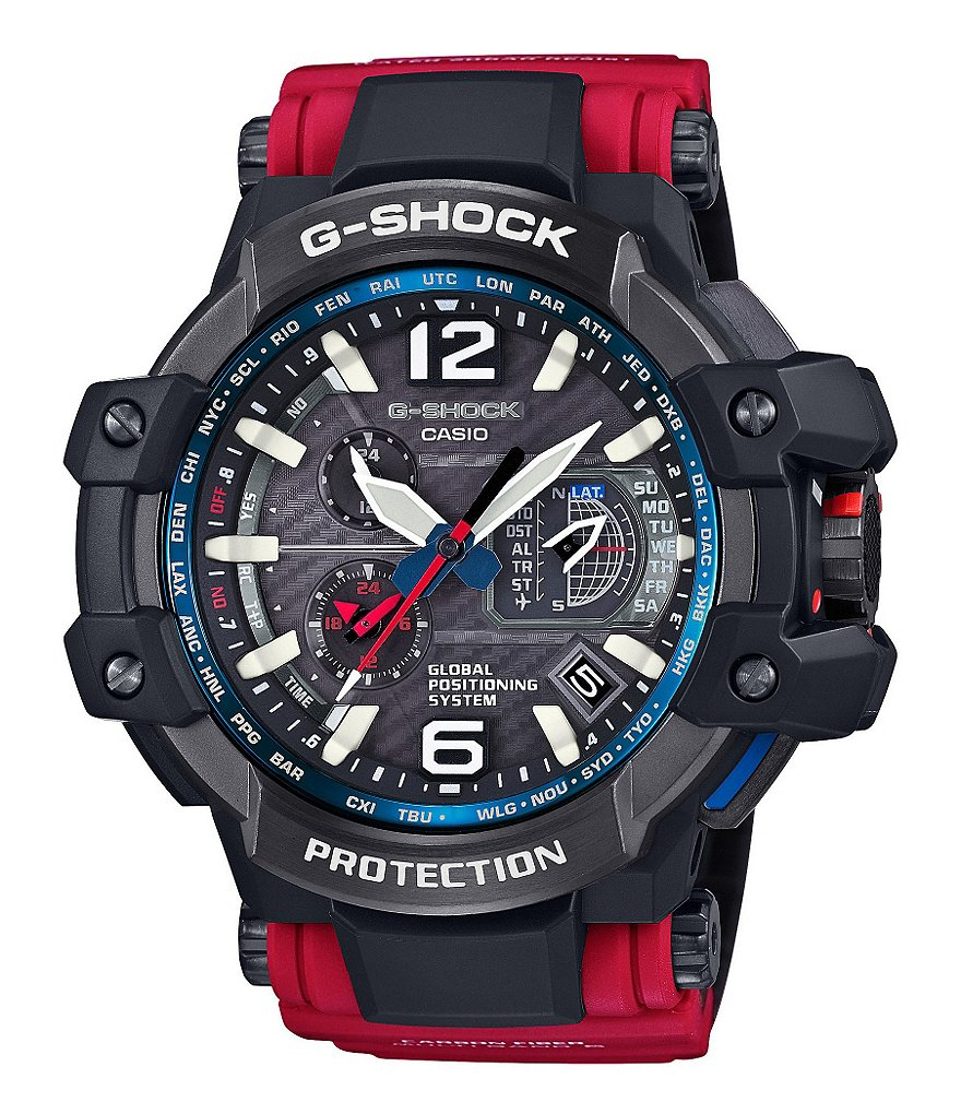 G-Shock Master Series Solar Atomic GPS Multifunction Chronograph Watch