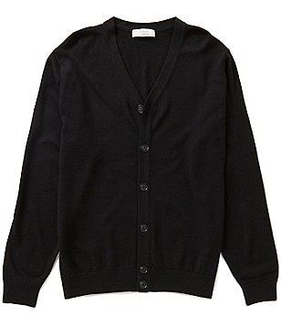 Turnbury Merino Wool 6-Button Cardigan