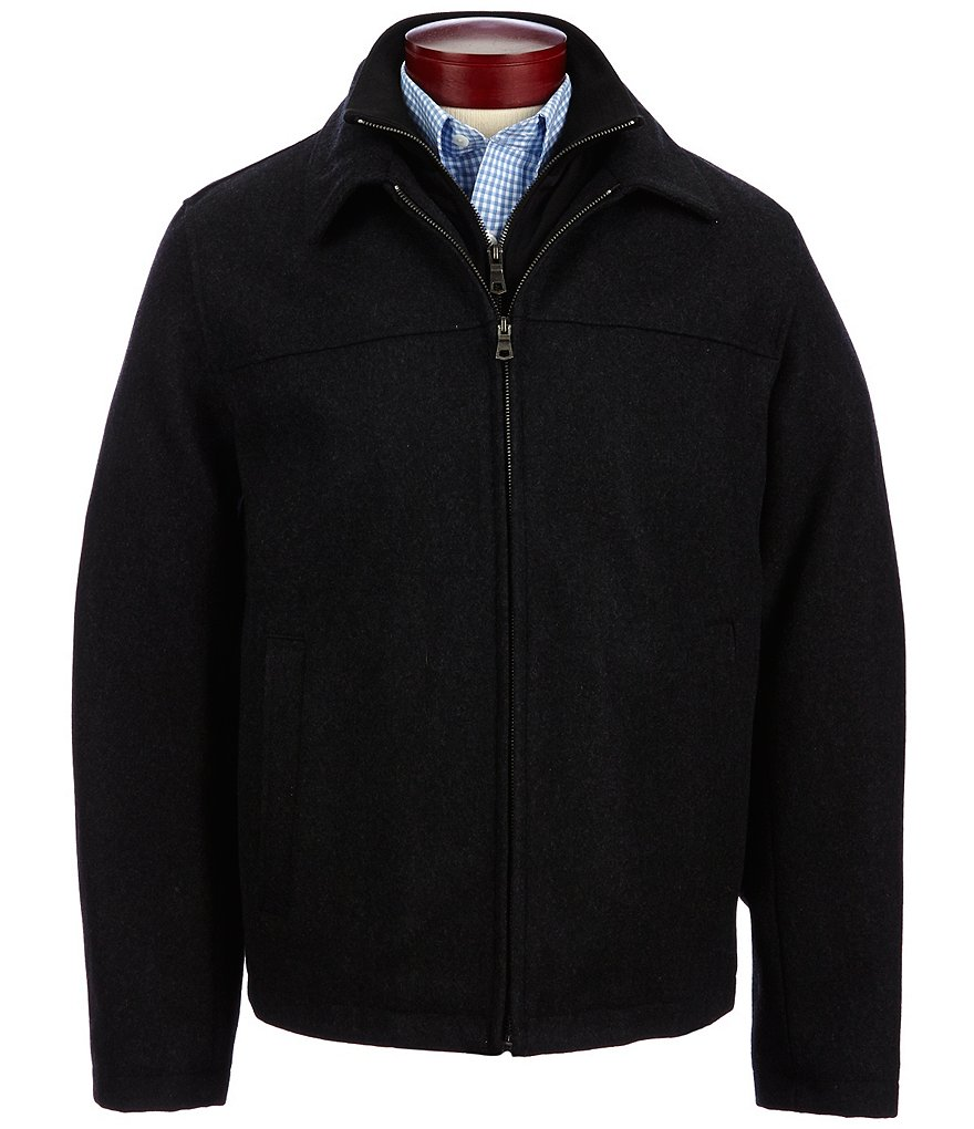 Roundtree & Yorke Wool Blend Jacket with Bib