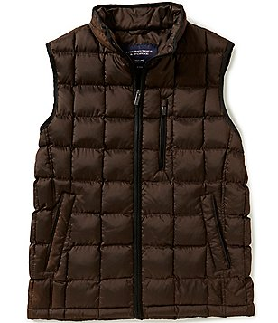 Roundtree & Yorke Windowpane Quilted Vest