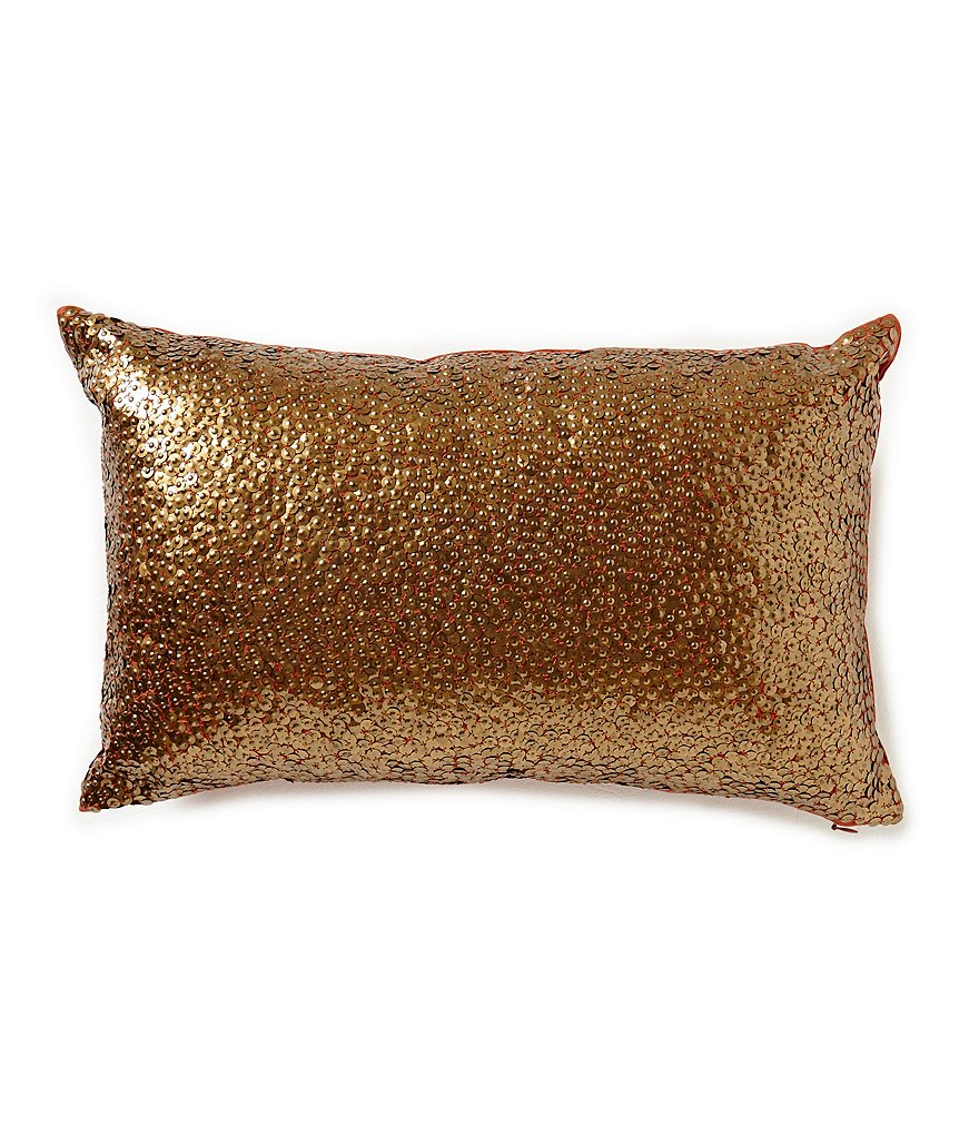 Noble Excellence Nature's Neutrals Casa Beaded Lace Breakfast Pillow
