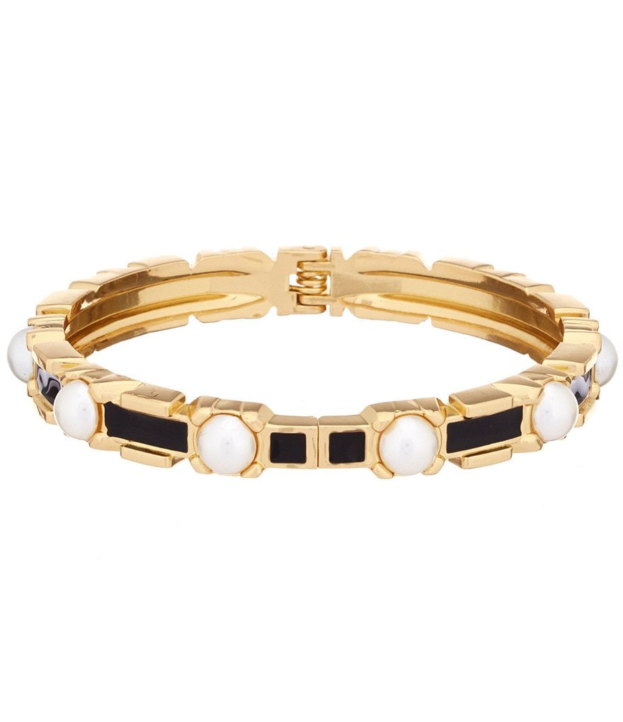 Anna & Ava Pearl Bangle Bracelet