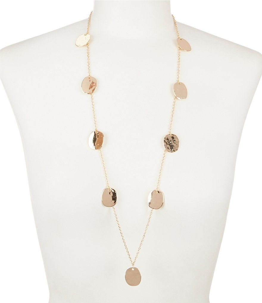Anna & Ava Mackenzie Gold Plated Coin Necklace
